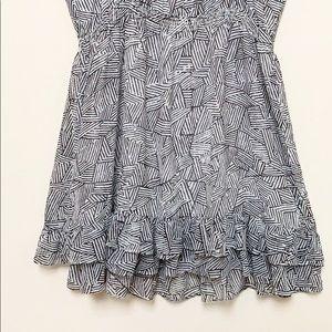 Moda International Dresses - Moda International Ruffle Trim Dress Size XL